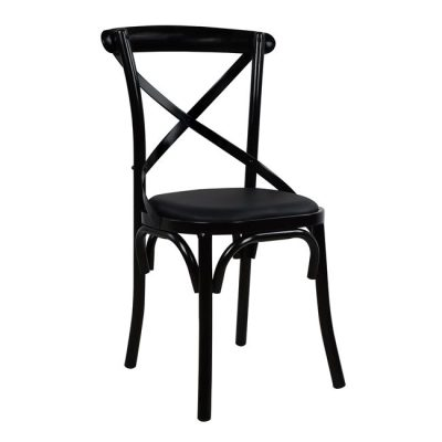 метален виенски стол