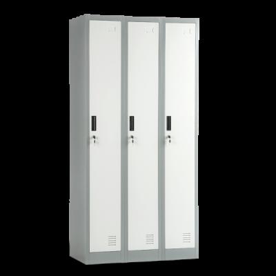 метален гардероб с три врата