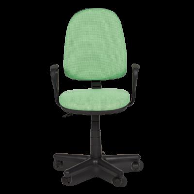 зелен работен стол