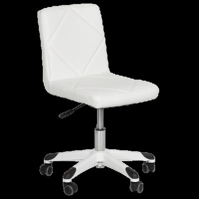 бял детски стол