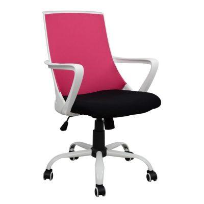 розов офис стол