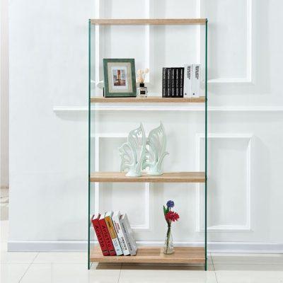 стъклена библиотека