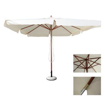 дървен-чадър